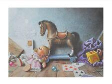 Wahed Khakdan Die Reise in die Kinderzeit Poster Kunstdruck Bild 50x60cm