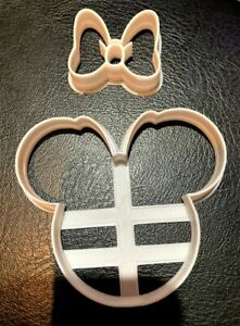 Minnie Head with Bow Cookie Cutter / Fondant / Icing