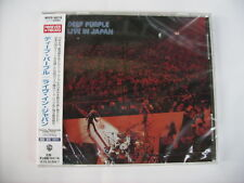 DEEP PURPLE - LIVE IN JAPAN - CD NEW SEALED JAPAN PRESS 2015 WITH OBI