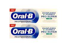 2x Oral-B Professional Zahnfleisch und Zahnschmelz Pro-Repair extra frisch 75 ml