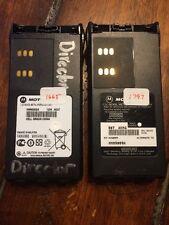 Used 1 Motorola Genuine 7.2V Nickel-Metal Hydride Battery Two Way Radio Hnn9009A