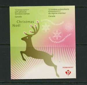 F804 Canada 2007 Christmas COMPLETE BOOKLET (2 panes of 6 each) MNH