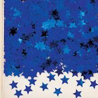 Blue Star Dust Metallic Confetti Birthday Celebration Party Table Sprinkles