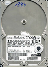 HITACHI DESKSTAR 500GB HDS725050KLA360 P/N: 0A32238 MLC: BA1723 Hard drive #385