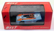 Voitures de courses miniatures bleus moulé sous pression pour Porsche