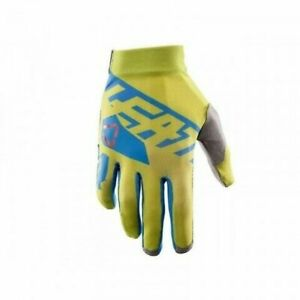 Gloves leatt GPX 2.5 x-Flow Yellow/Blue Size XL