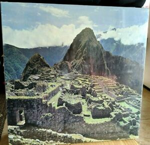 Vintage 1977 EATON Treasure Collection MACHU PICCHU 500+ Piece Puzzle SEALED
