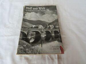 Volk und Welt Mai 1939 Prof. OPPERMANN - Die Großzeitschrift der Anspruchsvollen