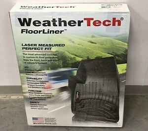 WeatherTech 44573-1-3 FloorLiner for Jeep Wrangler 2014-18 1st 2nd Row Black
