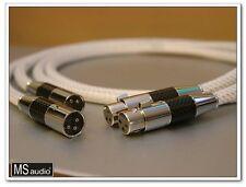 MS Audio Pure Silver Litz Structure Balanced XLR Interconnect 1m Pair