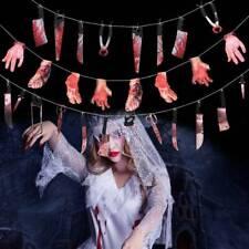 Halloween Blood Knife Horror Spooky Haunted House Hanging Knife Garland EN