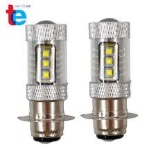 For Honda Rancher 350 400 Recon 250 LED 100w Headlights Bulbs Super White 8500K