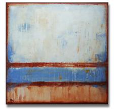 MALEREI Original BILDER Leinwand abstrakt moderne KUNST C. GOETHE 80x80 ACRYL