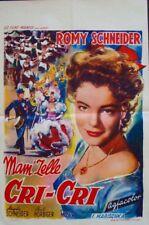 MARCH FOR THE EMPEROR DIE DEUTSCHMEISTER Belgian movie poster ROMY SCHNEIDER 55
