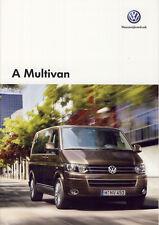 Volkswagen Vw Multivan 10 / 2013 catalogue brochure Hongrois Hungarian