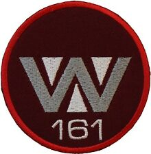 Aliens3 Weyland 161 Badge Embroidered Patch 7.5cm Sew/ Iron-on