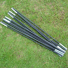 Tent Pole Economic Blacks Fiberglass Kit 7Sections Camping Travel Replacement AT
