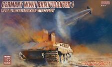 Model Collect 1/72 Germany WWII Rheintochter 1 Movable Missile Launcher ##