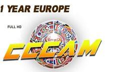 CCCAM 3 Cline/servidor de España 1 año estable 100%