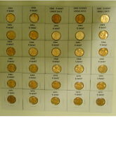 144 HAND PICKED 1956 TO 2019 P,D,S CHOICE BU MEMORIAL PENNYS 7 1982 TYPES