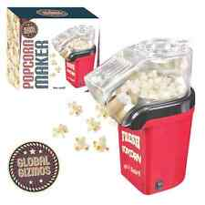 Red Fresh Popcorn Maker Electric Hot Air Fat Free 1200W Cinema Food UK Plug
