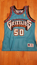 Authentic Big Country Bryant Reeves Vancouver Grizzlies Champion NBA Jersey 40
