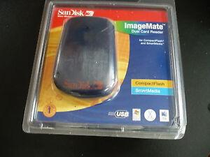 SanDisk Compact Flash SamrtMedia Card Reader Writer SDDR-75