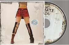 MELISSA MARS and i hate you CD PROMO