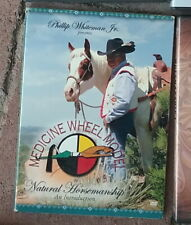 Medicine Wheel Model to Natural Horsemanship by Phillip Whiteman Jr Dvd