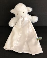"Bunnies by the Bay Carrots White Sheep Lamb Lovey 11"" Tall Security Blanket"