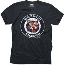 Majestic Threads Detroit Tigers 1961-1993 Cooperstown Logo Tri-Blend T-Shirt -