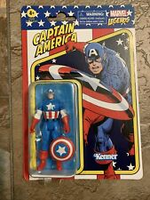 Kenner Hasbro Marvel Legends Captain America Retro Brand NEW MOC NICE!