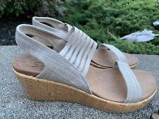 New Skechers  Sandals 38527 Size 10M/40 Boho Slingback  Retro ECU