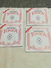 4 X Violin Strings, New Violin Strings, tonica, Pirastro