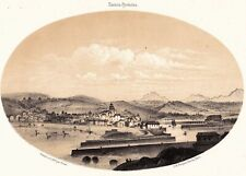 Saint Jean De Luz Donibane Lohizune Pays Basque Lithographie Gorse 1850