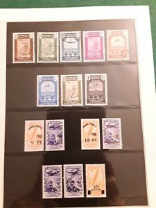 Selection Of Spanish (spain) Aviation Stamps