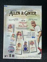 2020 Topps Allen & Ginter Baseball MLB Factory Sealed Blaster Box Ready to ship