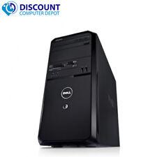 Dell Vostro Desktop Computer Windows 10 PC Intel Core 2 Duo Tower 4GB 80GB Wifi