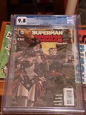 "Superman Wonder Woman #5 ""Steampunk"", Dan Panosian Cover Variant 1:25, CGC 9.8"