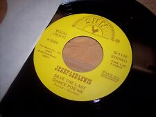 """NM Jerry Lee Lewis Save The Last Dance For Me/Am I To Be The 7"""" 45RPM w/ppr slv"""