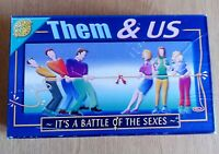 THEM & US GAME, THE BATTLE OF THE SEXES, GAMES, CHEATWELL
