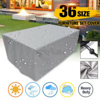 Extra Large Garden Rattan Outdoor Furniture Covers Patio Table Seat