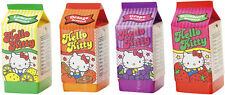 Sanrio Hello Kitty 4pc Complete Scented Block Eraser Fruit Juice Carton Set