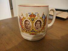 Splendid Mug To Commemorate Coronation George VI In 1937