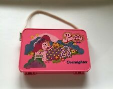 Poochie For Girls Overnighter Plastic Case Vintage 1980 Mattel Pink Dog Mini Bag
