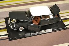 Collection Auto-Vintage : Citroën DS19 1963 au 1/24ème avec boite vitrine