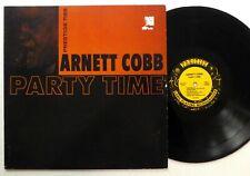 ARNETT COBB Party Time LP Reissue 1986 jazz  #2720