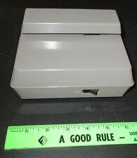 Vintage MONACOR envelope opener -- clean battery compartment/motor works but NR