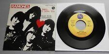 "Ramones - Baby I Love You 1980 German Sire 7"" Single P/S"