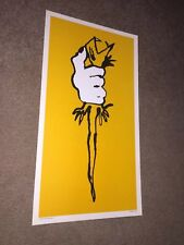 Iggy Pop James Osterberg Poster 1979 Vintage Original The Stooges Punk Rock